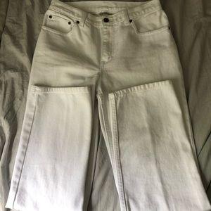 Jeanology Newport News White Jeans